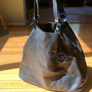Micheal Kors hobo leather handbag